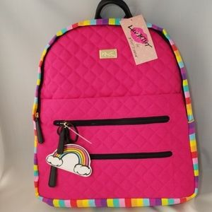 Luv Betsey Johnson bexxx cotton backpack